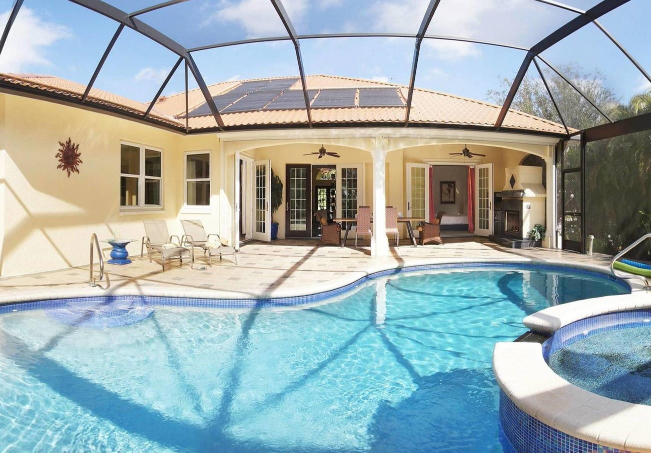 Villa Fort Myers 12823 – großzügiges Luxushaus in der gated ...