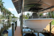 Boot der Villa Bluewater in Cpape Coral - Florida