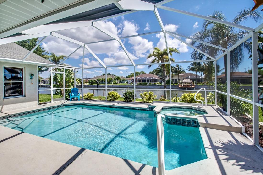 Villa Cape Coral 12116 U2013 Großzügig Gestaltetes Ferienhaus In Südlage Mit  Pool Und Jacuzzi Mit 3 Schlaf  Und 2 Badezimmern