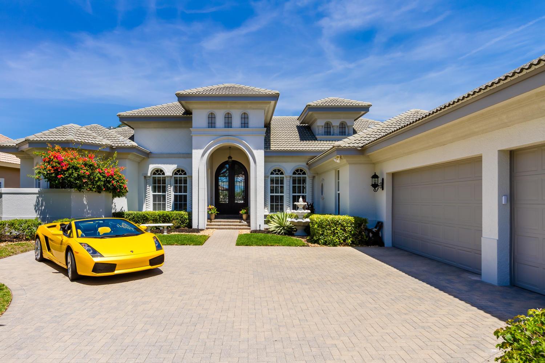Amerikanischer Kühlschrank Expert : Villa estero 12966 u2013 große luxusvilla an den miromar lakes mit kino