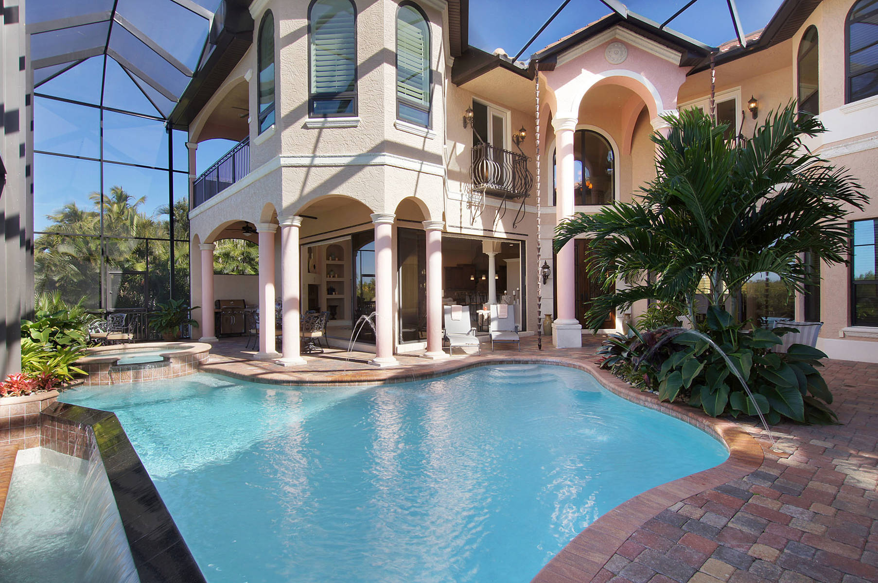 Amerikanischer Kühlschrank Expert : Villa cape coral 12871 u2013 groß und luxuriös auf 2 etagen in toplage