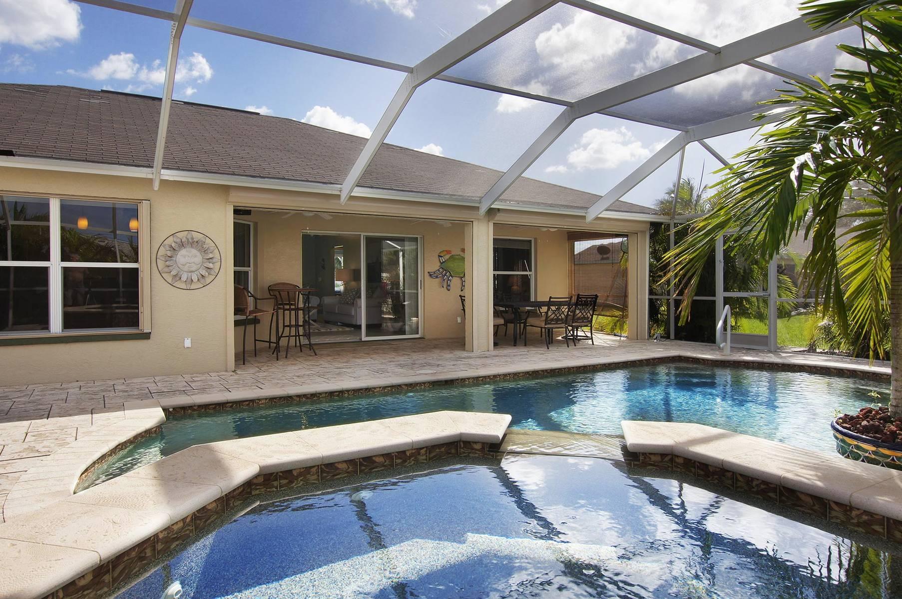 Amerikanischer Kühlschrank Expert : Ferienhaus cape coral 12785 u2013 schönes ferienhaus umsäumt von palmen