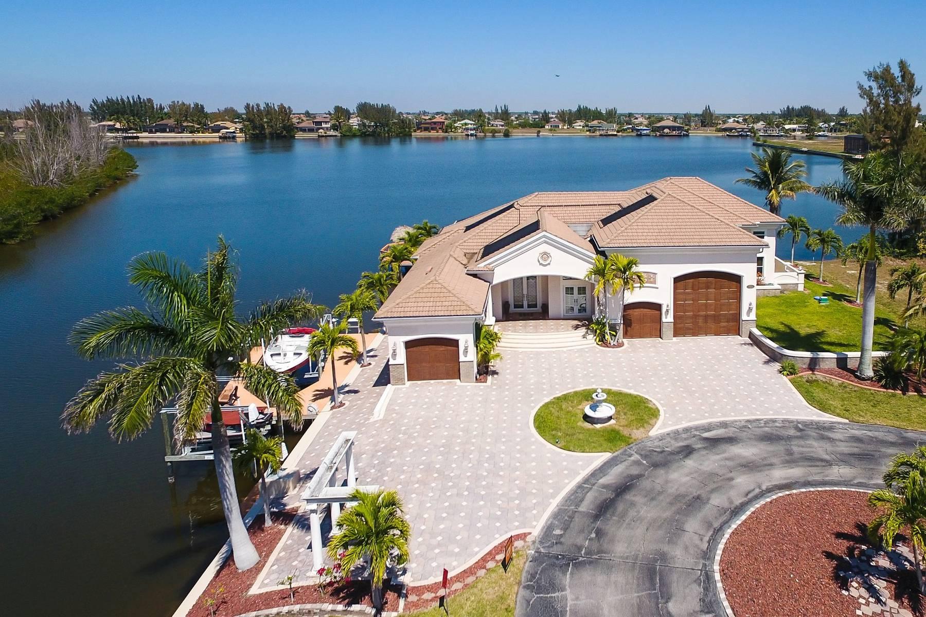 Außenküche Mit Xl : Villa cape coral 13001 u2013 große villa auf kanal eckgrundstück mit