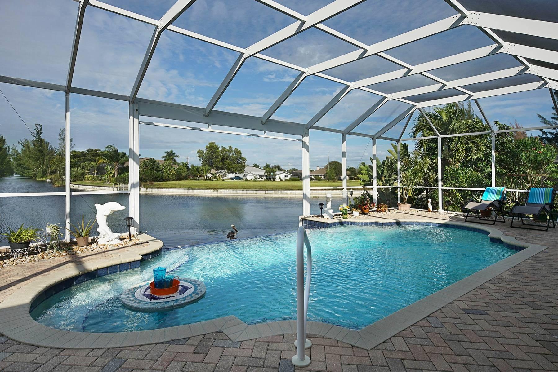 Außenküche Mit Xl : Villa cape coral 13092 u2013 infinity pool mit weitblick außenküche